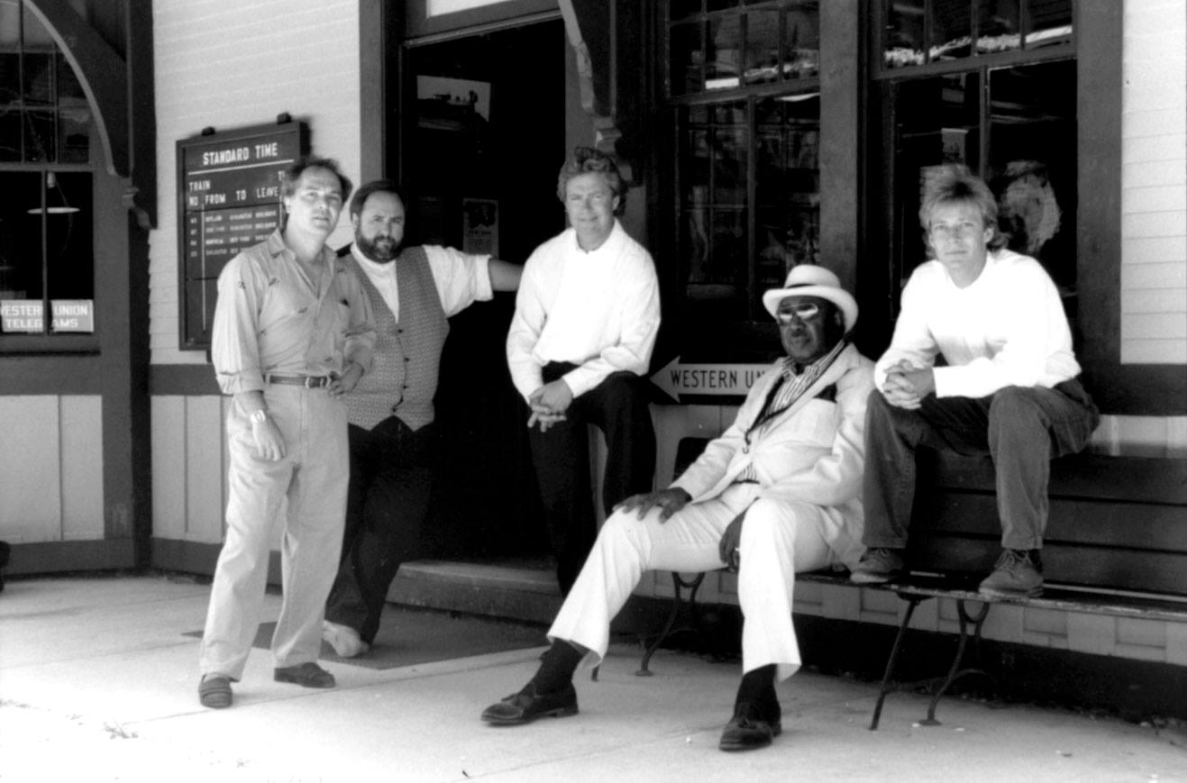 unknown blues band