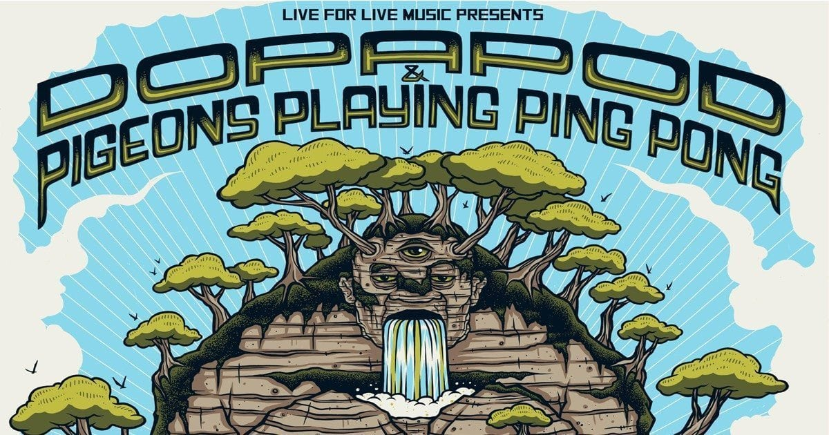 Dopapod And Pigeons Playing Ping Pong Plan Huge Fall Tour Nys Music