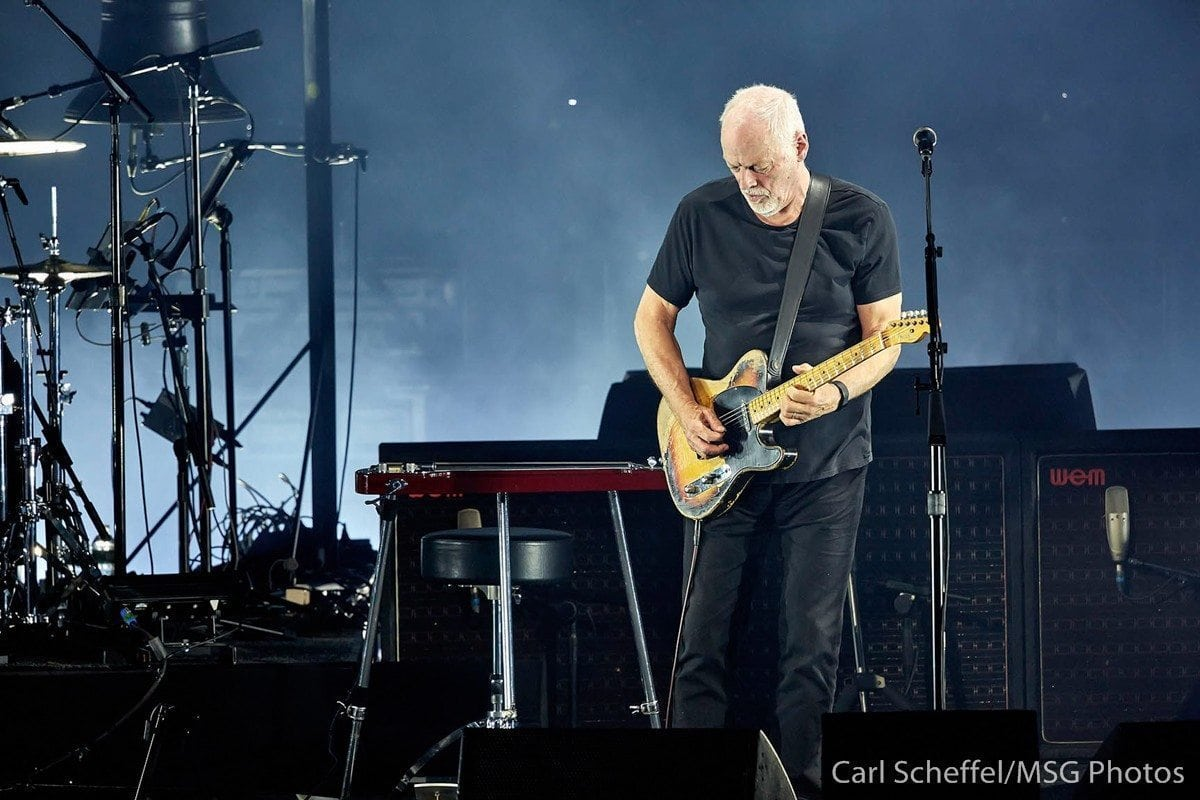 david gilmour madison square garden