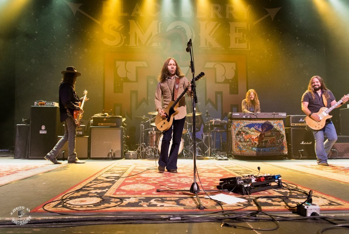 Blackberry Smoke Unite Eclectic Crowd At Fm Kirby Center