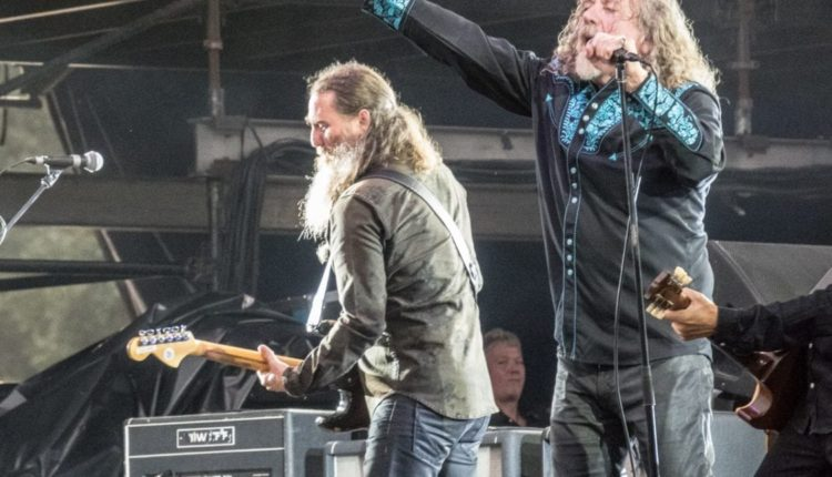 Robert Plant Kicks Off Spring Tour in March; Led Zeppelin ...