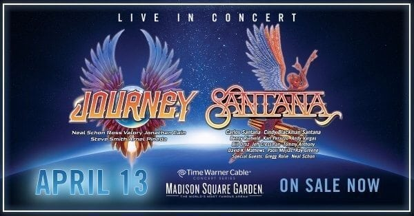 santana and journey to team up for select spring tour dates nys music. Black Bedroom Furniture Sets. Home Design Ideas