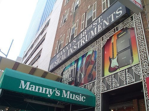 nyc s biggest music shops closing on 48th street nys music. Black Bedroom Furniture Sets. Home Design Ideas