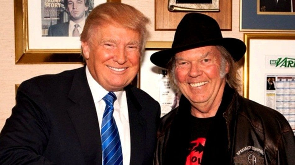 trump neil young