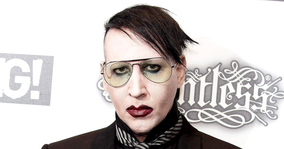 Marilyn manson has meltdown in return to ny nys music metalhard rockpunknews m4hsunfo