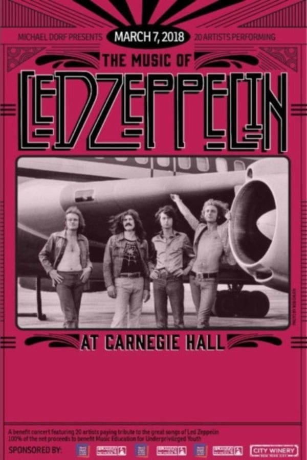 Carnegie hall tribute to led zeppelin to feature betty lavette the on march 7 michael dorf founder of the knitting factory and city winery will bring together a wide ranging lineup of artists once again for an annual fandeluxe Images