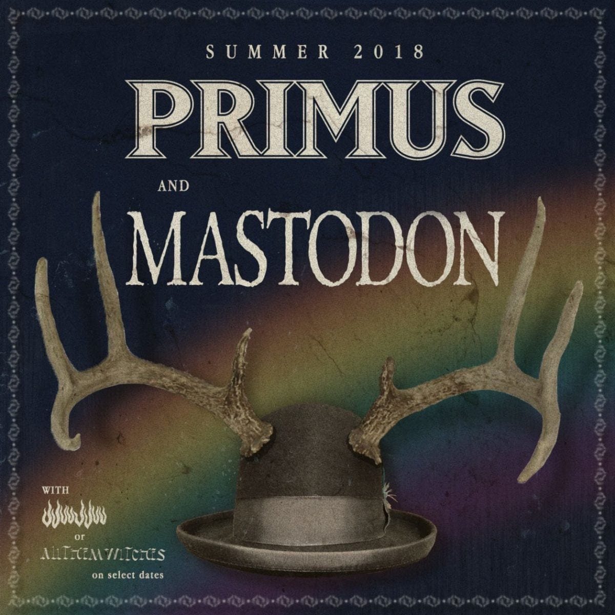 8342ff2c324d Primus and Mastodon are hitting the road together this year for a huge  summer tour. Stretching non-step from the beginning of May to early July