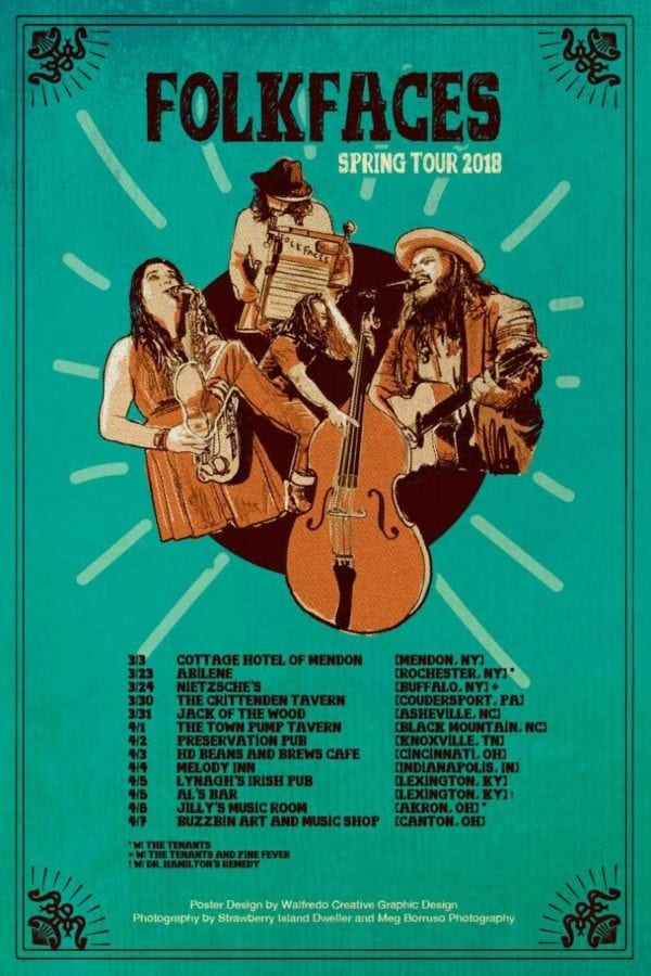 Folkfaces Spring Tour Underway | Utter Buzz!