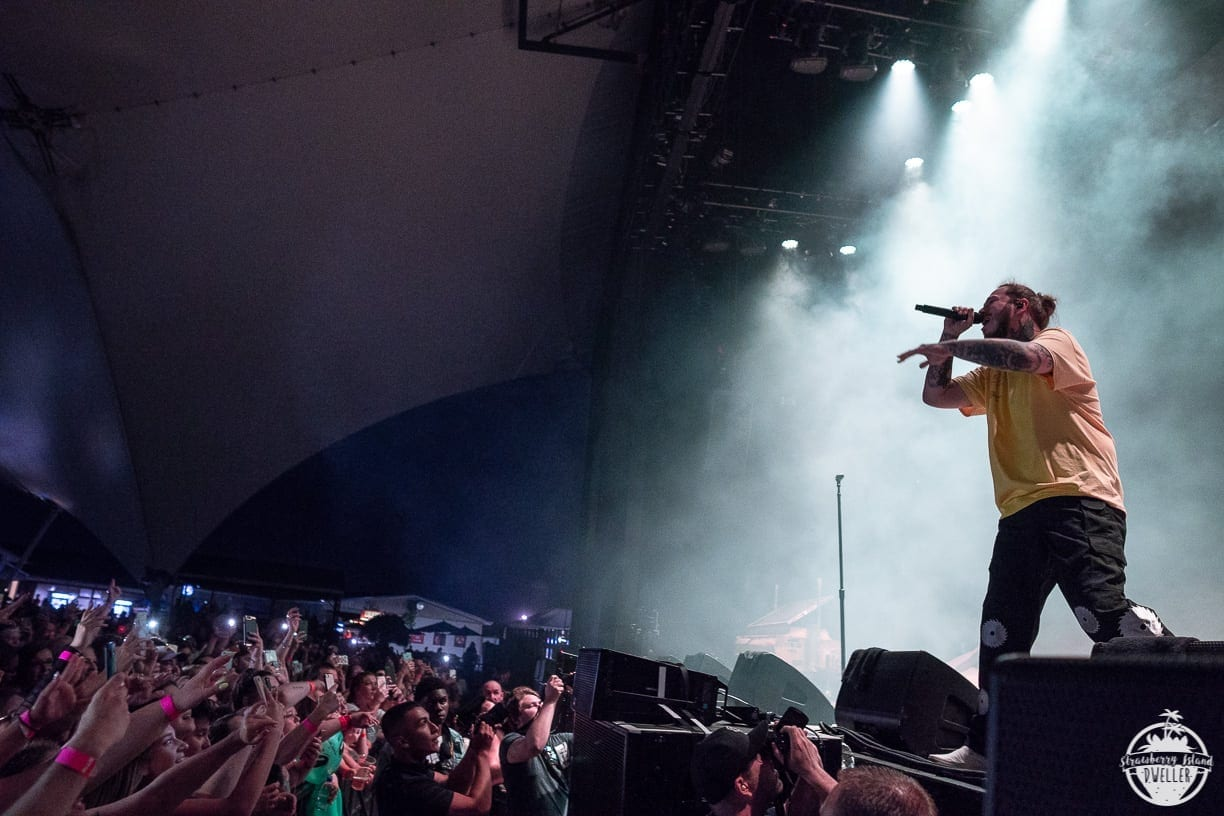 Post Malone Kicks Off Summer At Darien Lake Utter Buzz French Grimes Magneto Wiring Schematic And A Bevy Of Up Coming Hip Hop Acts On The Bill Check From Reaction Throngs Teenagers Twenty