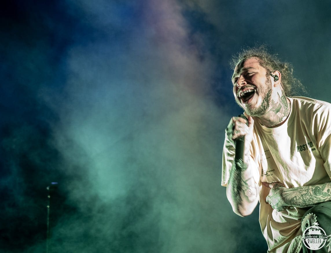 Post Malone Kicks Off Summer at Darien Lake | Utter Buzz!