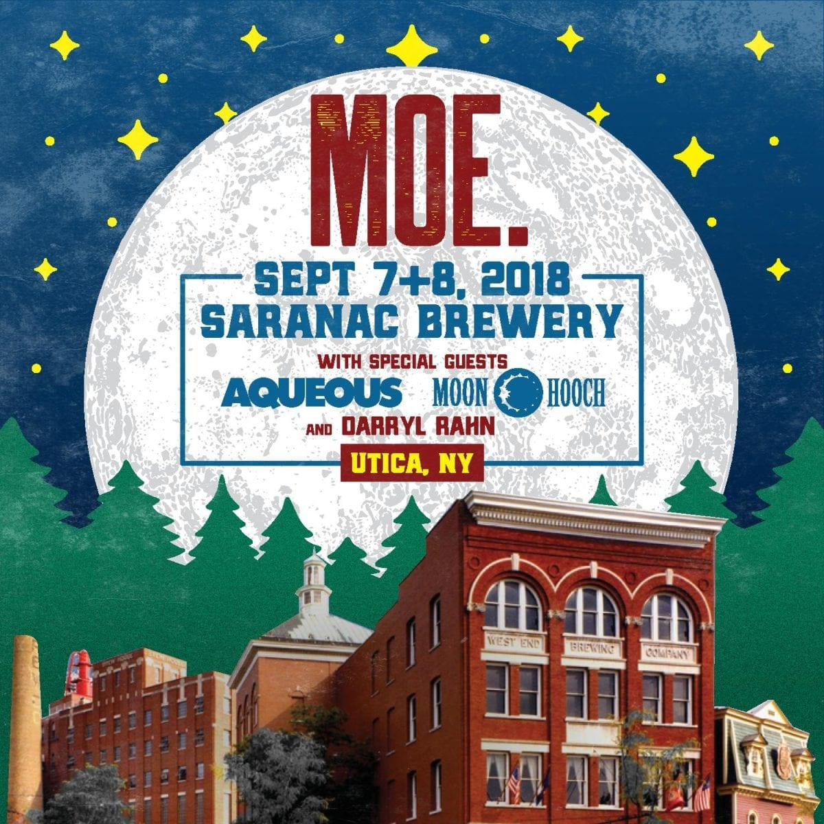 moe. returns to Saranac Brewery on September 7 and 8 | Utter Buzz!