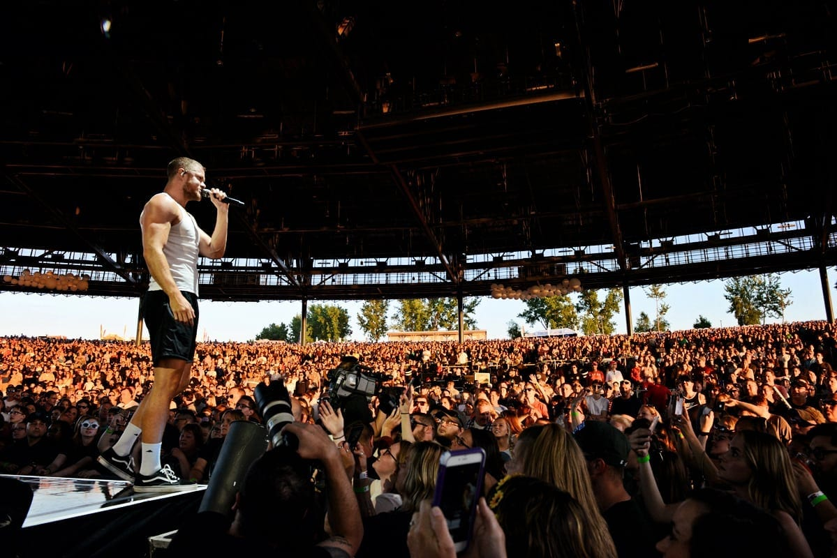 Imagine Dragons Leaves Syracuse Fans Feeling On Top Of The World Elaine Teal Leux Studio L Utter Buzz