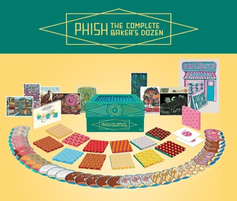 Phish\'s The Baker\'s Dozen: Live at Madison Square Garden Box Set ...