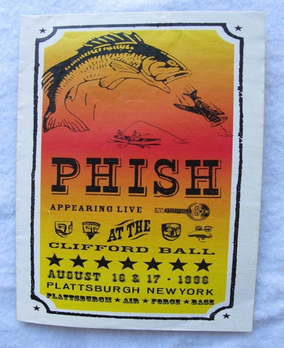 Phish Clifford Ball