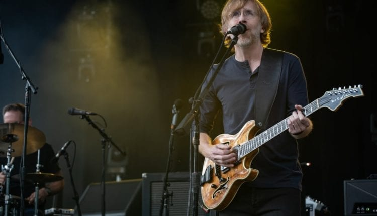 Trey Anastasio Trio – Central Park – 7-6-2018 (1 of 14)