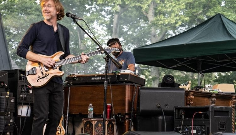 Trey Anastasio Trio – Central Park – 7-6-2018 (11 of 14)