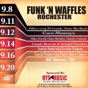 Funk n Waffles – Rochester (Ends 9/20)