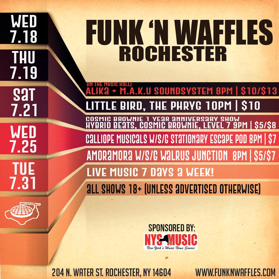 Funk n Waffles – Rochester (Ends 7/31)