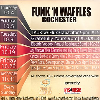 Funk n Waffles – Rochester (Ends 10/31)