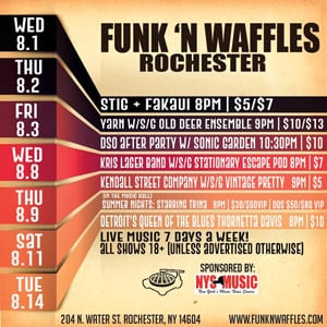 Funk n Waffles – Rochester (Ends 8/14)