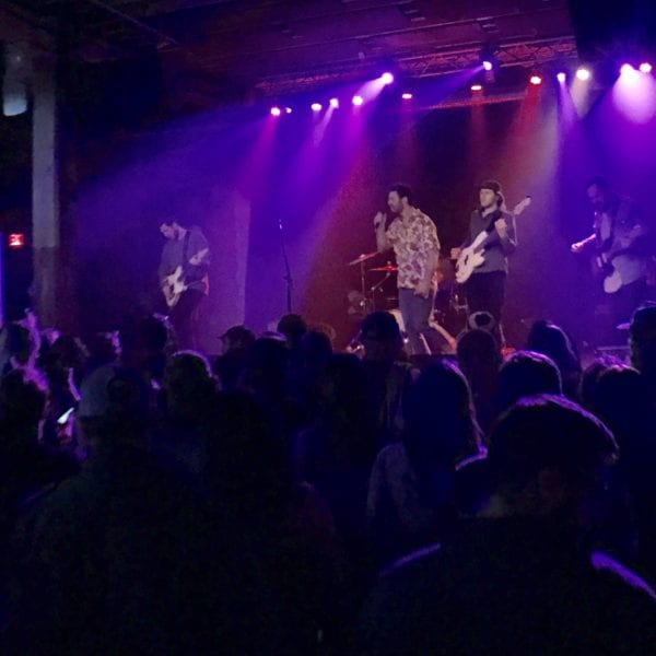 Younger Than perform in Hometown at Buffalo Iron Works