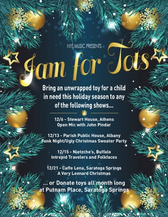 Jam for Tots (12/25)