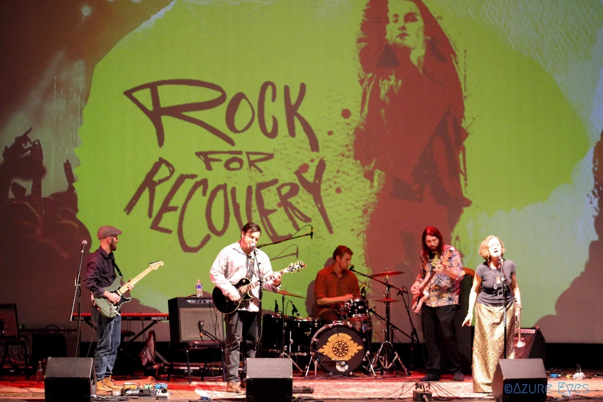 The second annual Rock for Recovery fundraiser for Helio Health took place on March 29 at The Palace Theatre in Syracuse