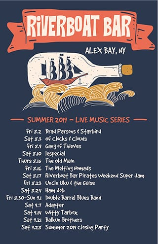 Alex Bay – August & September