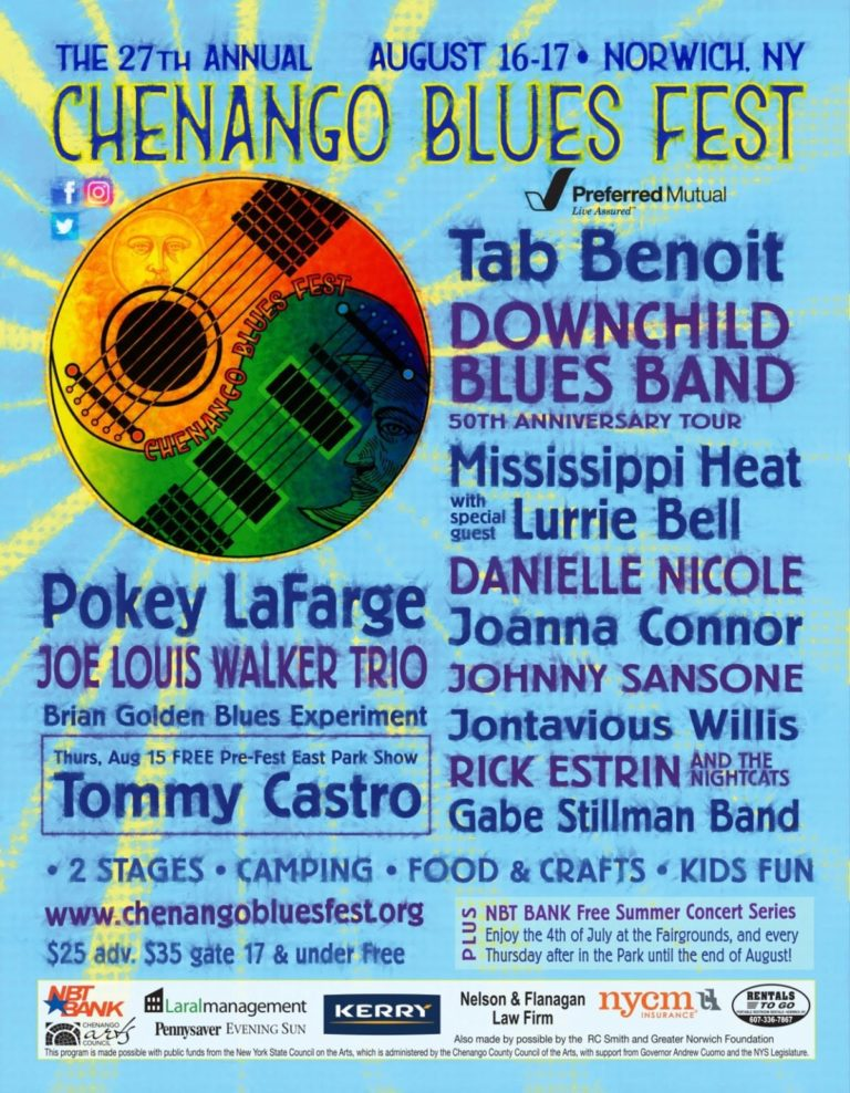 Chenango Blues summer