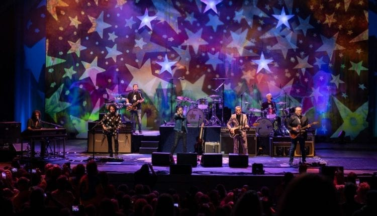 Ringo Starr and His All-Star Band, Edgar Winter and Blood, Sweat and Tears perform at the Bethel Woods Center for the Arts over the 50th Anniversary weekend of the 1969 Woodstock Festival.