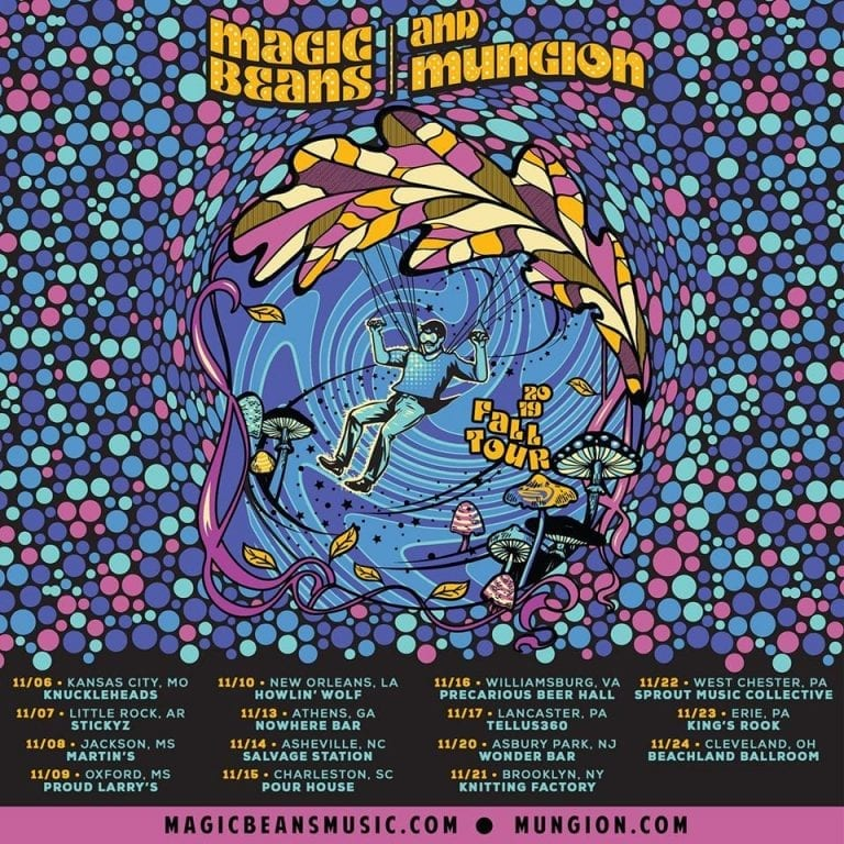 Magic Beans and Mungion announce November Tour – NYS Music