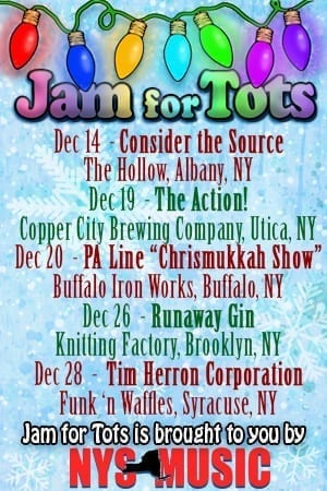 Jam for Tots 3 – Dec 28