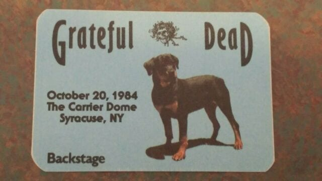 Grateful Dead Carrier Dome