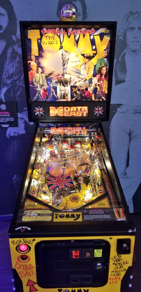 rock and pinball tommy the who