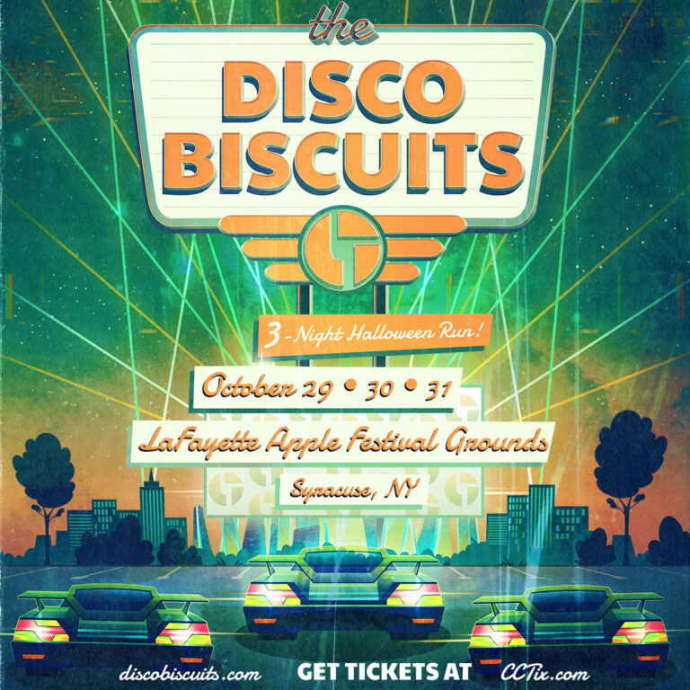 Disco Biscuits Halloween 2020 Disco Biscuits announce 3 night Halloween Drive In Run in Syracuse