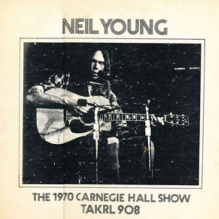 neil young carnegie hall