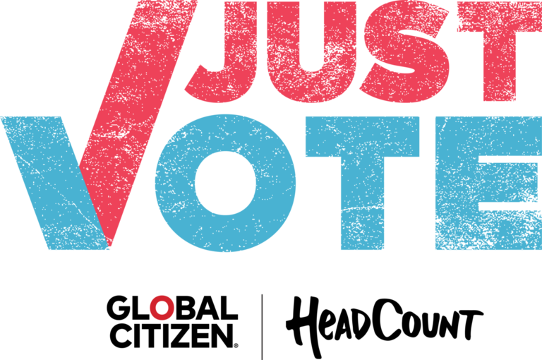 Just Vote Campaign Announced By Headcount And Global Citizen Nys Music