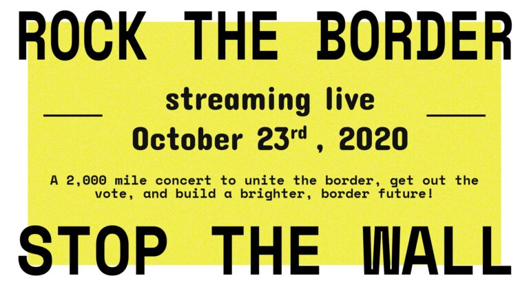 Rock The Border Stop The Wall