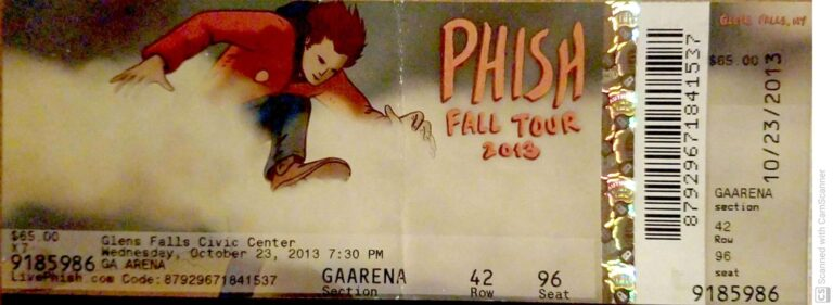 Phish Glens Falls
