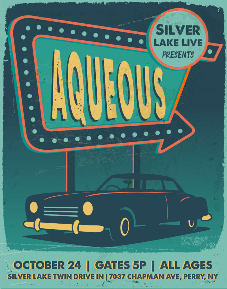Aqueous Silver Lake Twin Drive-In