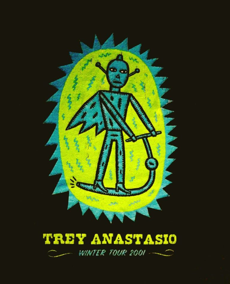 trey anastasio landmark theatre 2001 winter tour