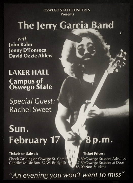 jerry garcia band oswego