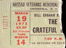 Grateful Dead Nassau
