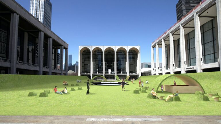 The Green Rendering Lincoln Center Plaza