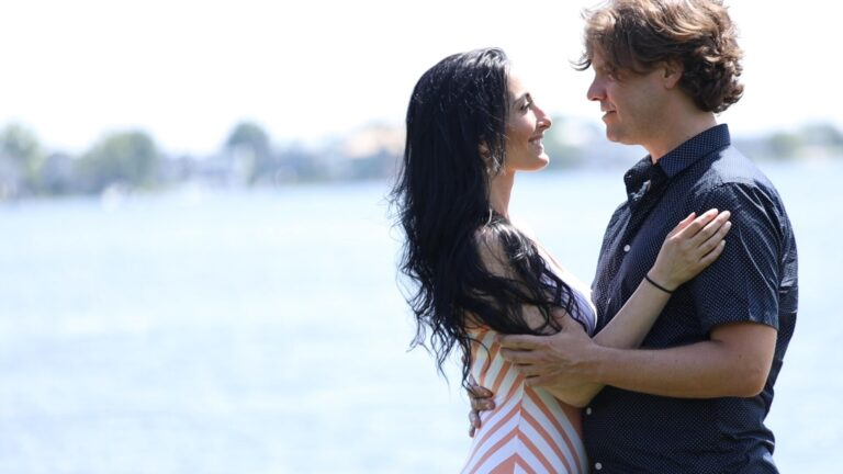"""Jahn Klose and Alicia Madison in the official music video for """"Love You The Most"""""""