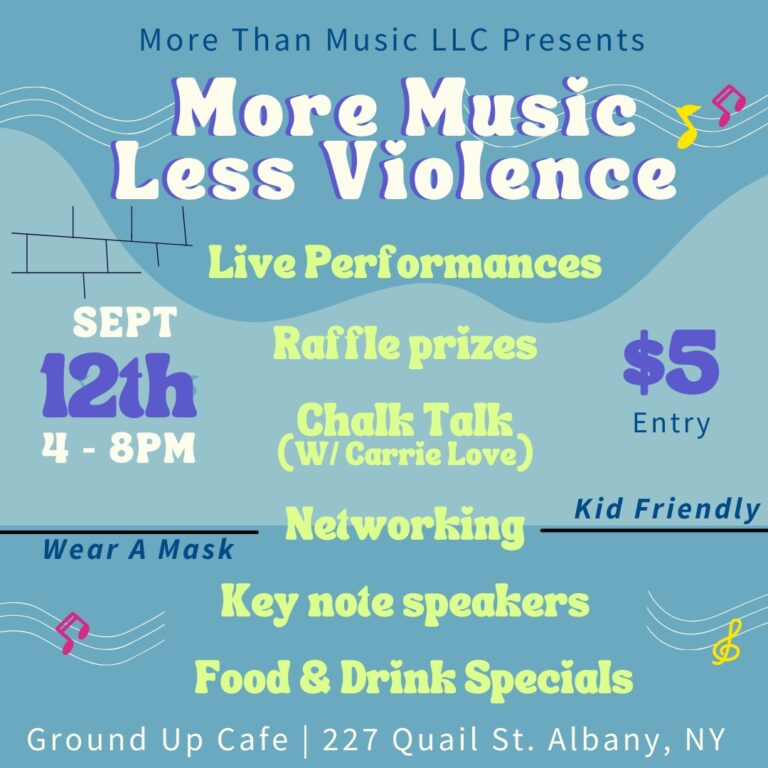 More Music Less Violence